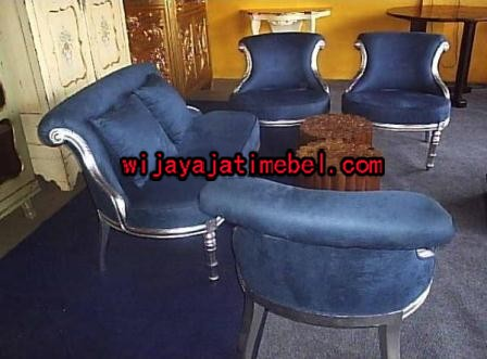 Kursi Tamu Gold Leaf Model Sofa
