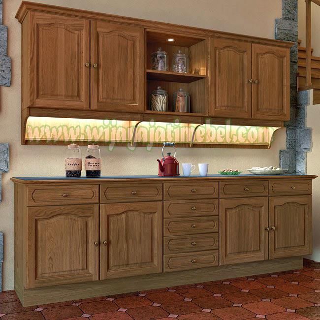 Lemari Dapur Modern Wijaya Jati Mebel