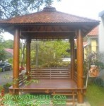 Gazebo Glugu Atap Sirap Natural Furnish