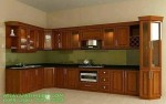 Kitchen Set Model Minimalis Kayu Jati Terbaru 2020